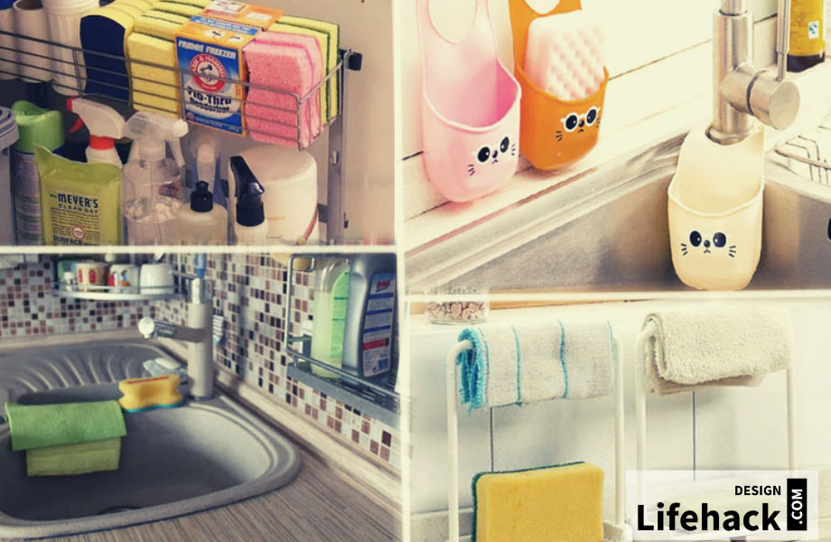 тряпки для мытья в интерьере