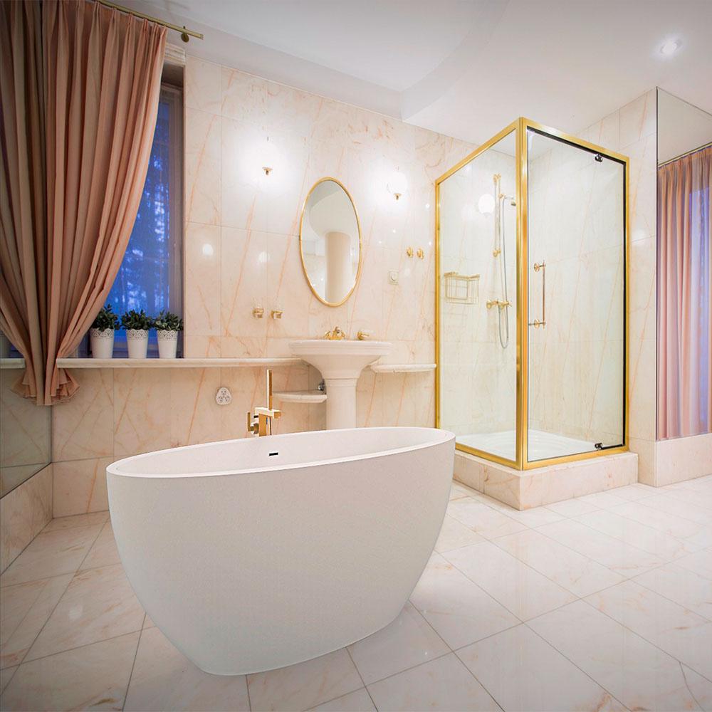 ванная в интерьере миниатюра