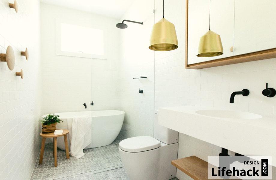 ванная в интерьере