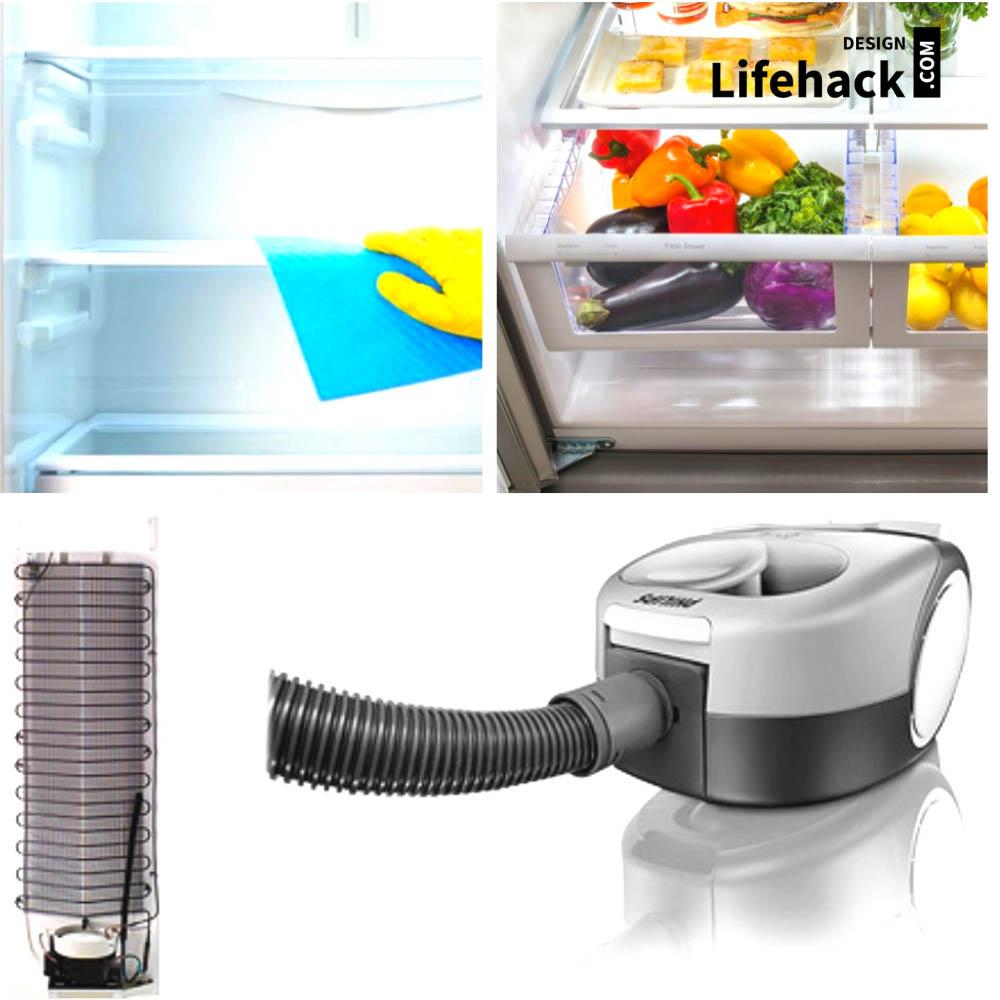 чистка холодильника в домашних условиях