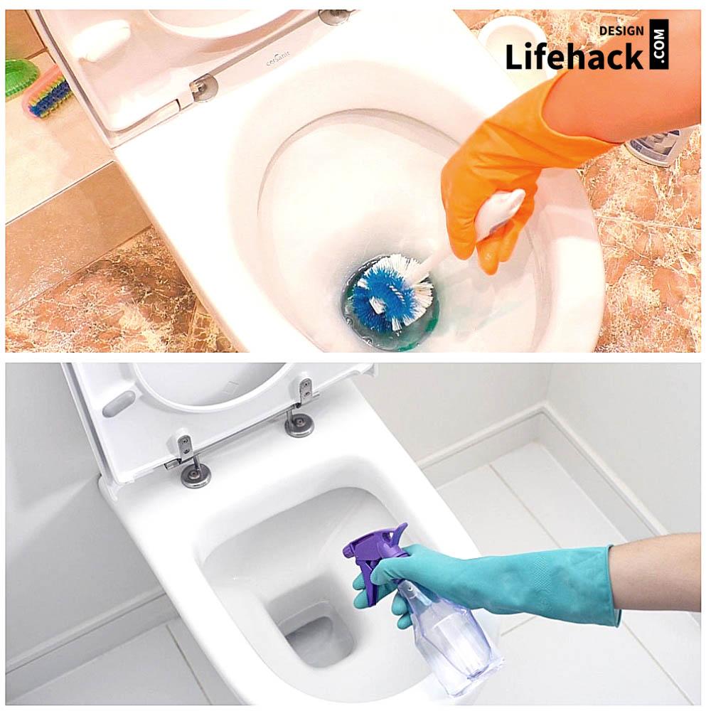 чистка туалета в домашних условиях