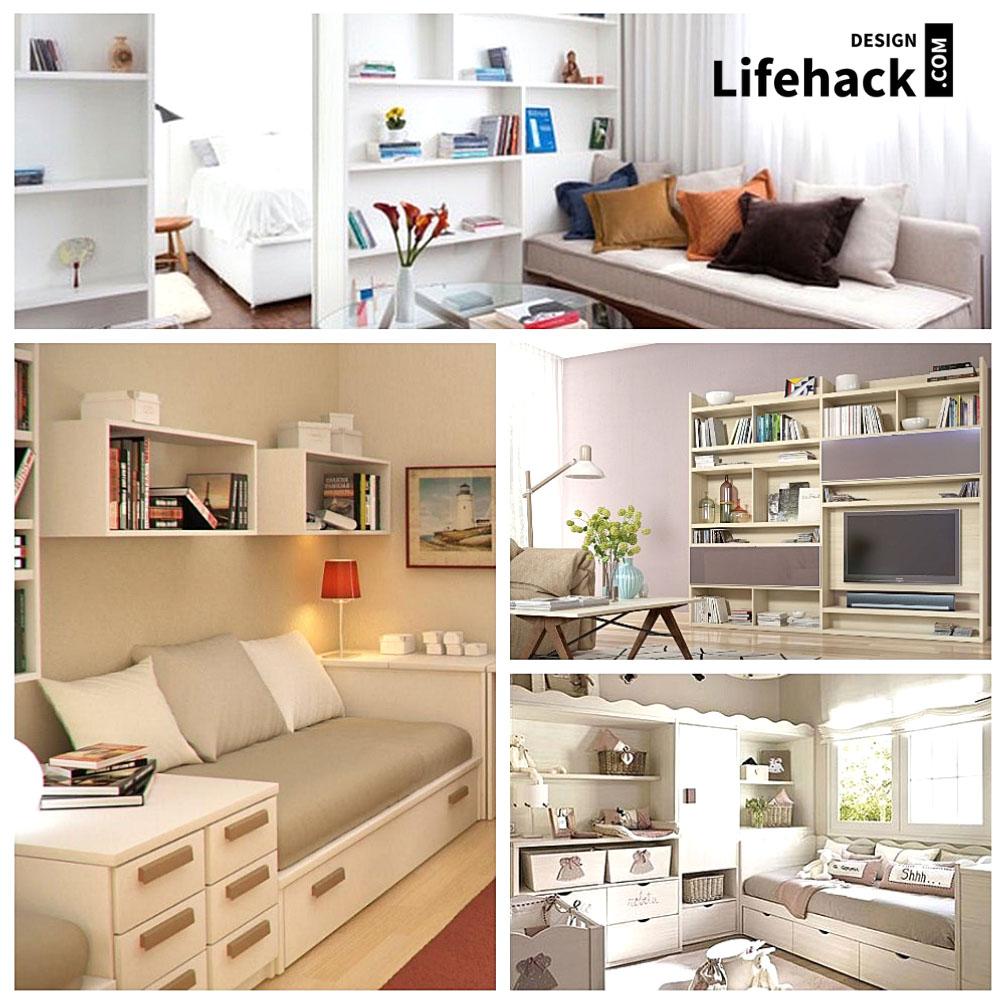 мебель в интерьере для маленьких комнат