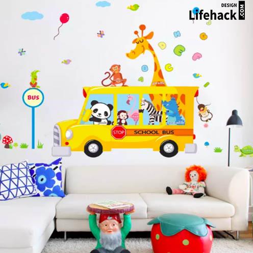 Принты стен для детской