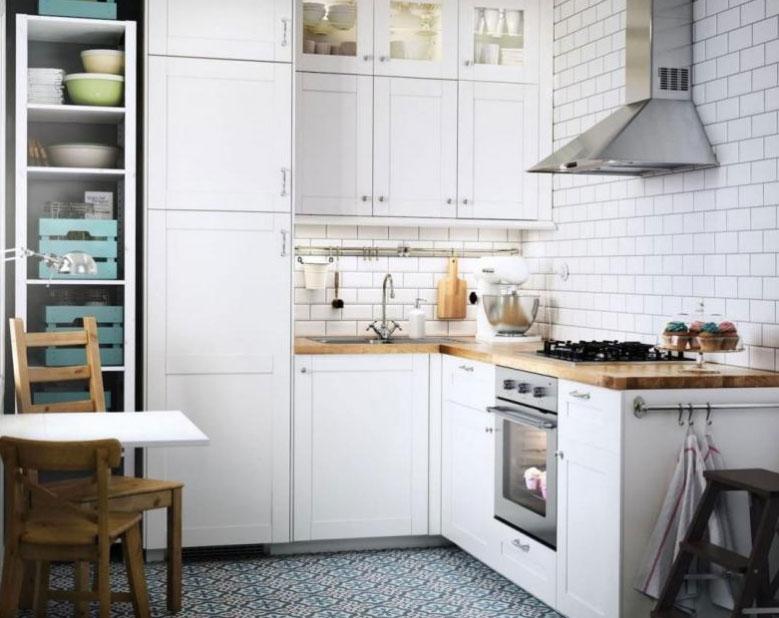 Решение для дизайна малогабаритной кухни