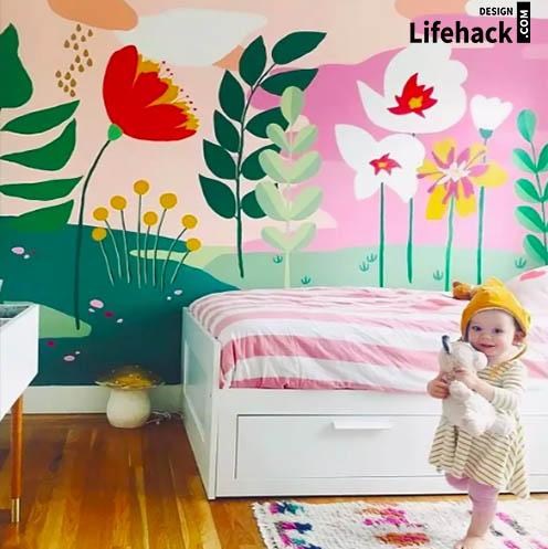 Роспись стен для детской