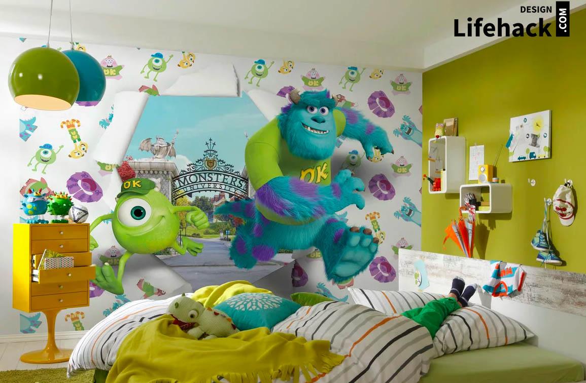 декорации в детскую в интерьере