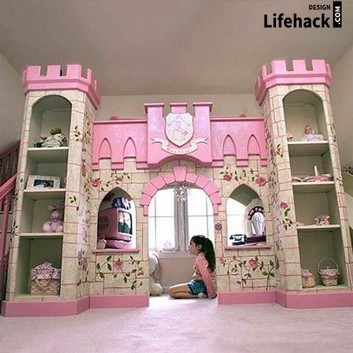 детская в виде замка принцессы