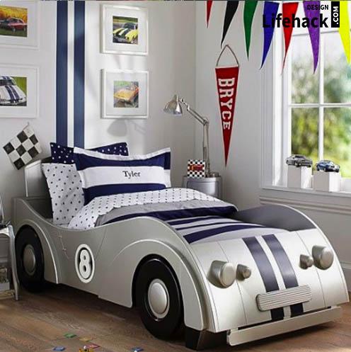 кровать для мальчиков в детскую