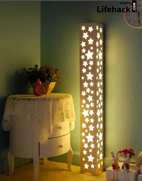лампы освещения в детскую в интерьере
