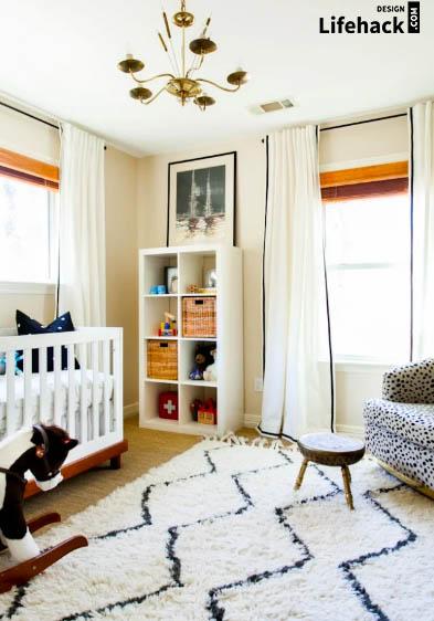 текстильное оформления детской комнаты